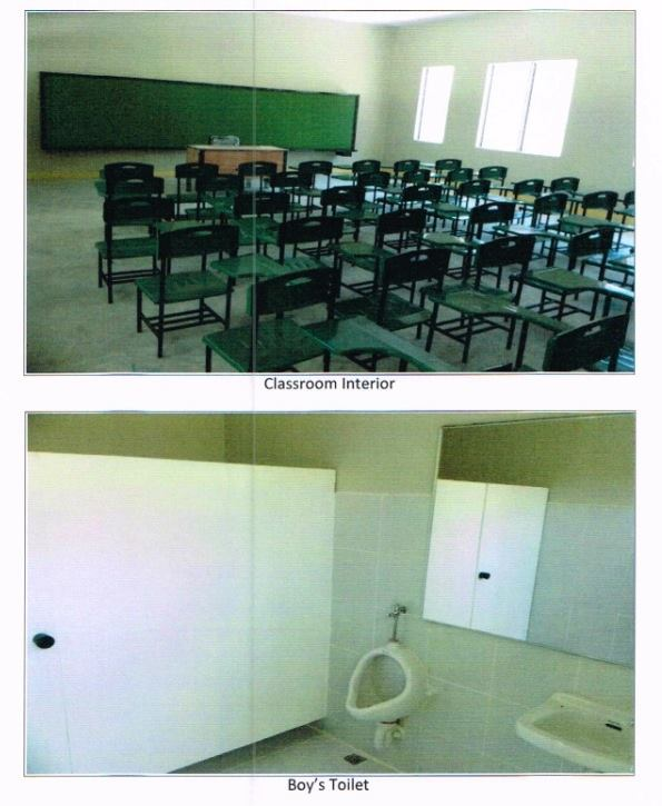 CLASSROOMS AND WASH ROOM